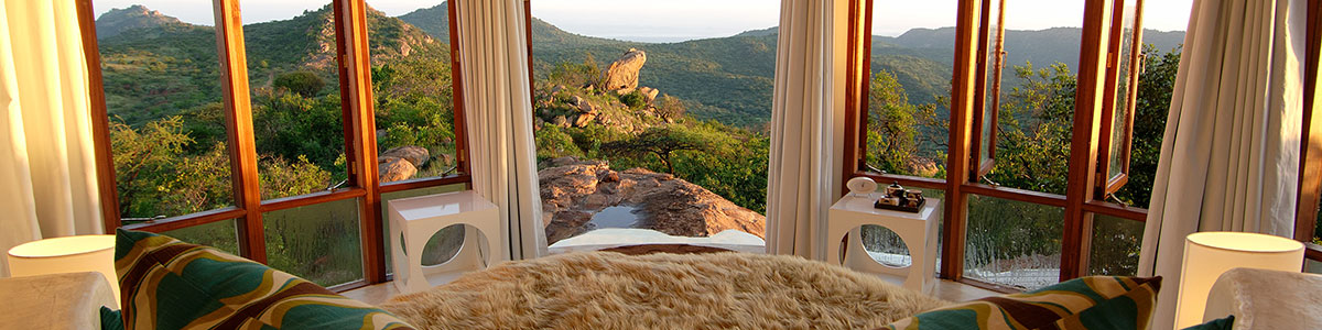 secluded holiday accommodations in Africa